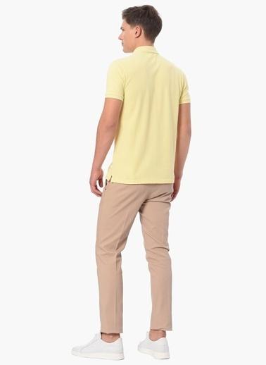 George Hogg Polo Yaka Tişört Sarı